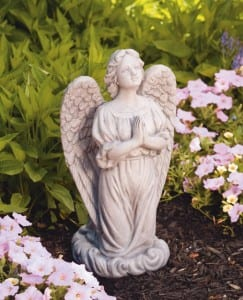 Praying Guardian Angel Statue 20""