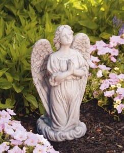 """Praying Guardian Angel Statue 20"""""""