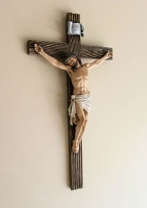 "Resin Wall Crucifix - 20 3/4"""