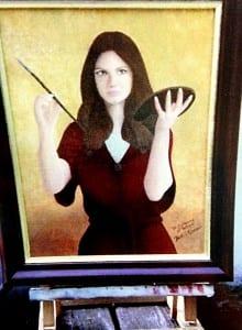 Customer Painting of St. Catherine