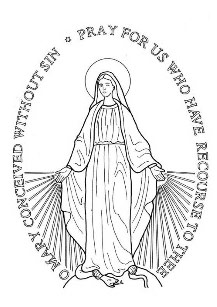 Miraculous Medal Front