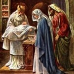 The First Sorrow of Mary