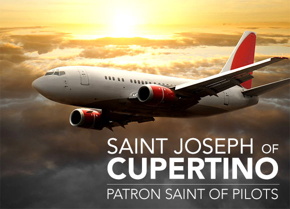 Saint Joseph of Cupertino the Patron Saint of Pilots