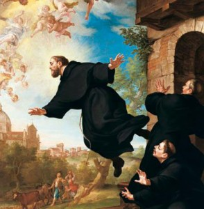 Saint Joseph of Cupertino Elevating