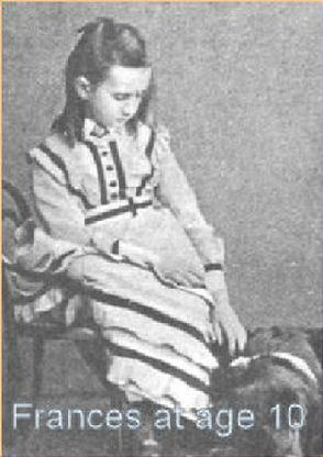 St. Frances Cabrini at age 10