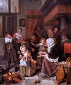 Saint Nicolas Chimney and Gifts