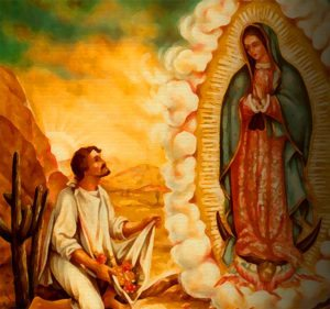 St Juan Diego & Our Lady of Guadalupe