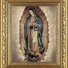 Our Lady of Guadalupe Framed Print Giveaway