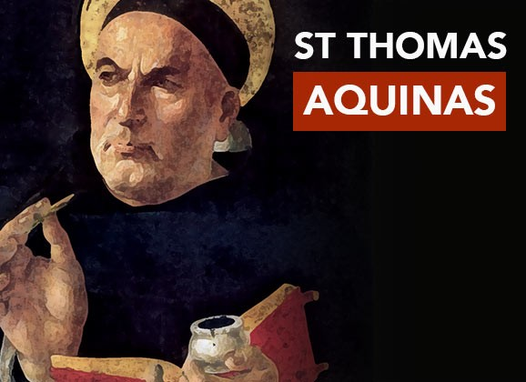 Who is Saint Thomas Aquinas
