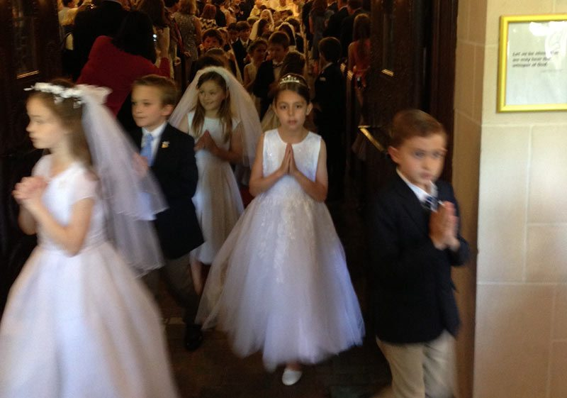 Joan Calabrese Holy First Communion Dress