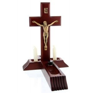 Dark Cherry Sick Call Crucifix