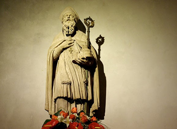 Who is Saint Blaise?