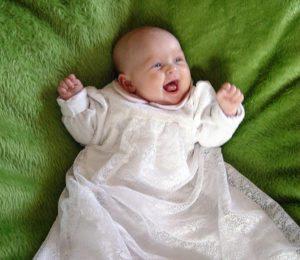 Infant Catholic Baptize