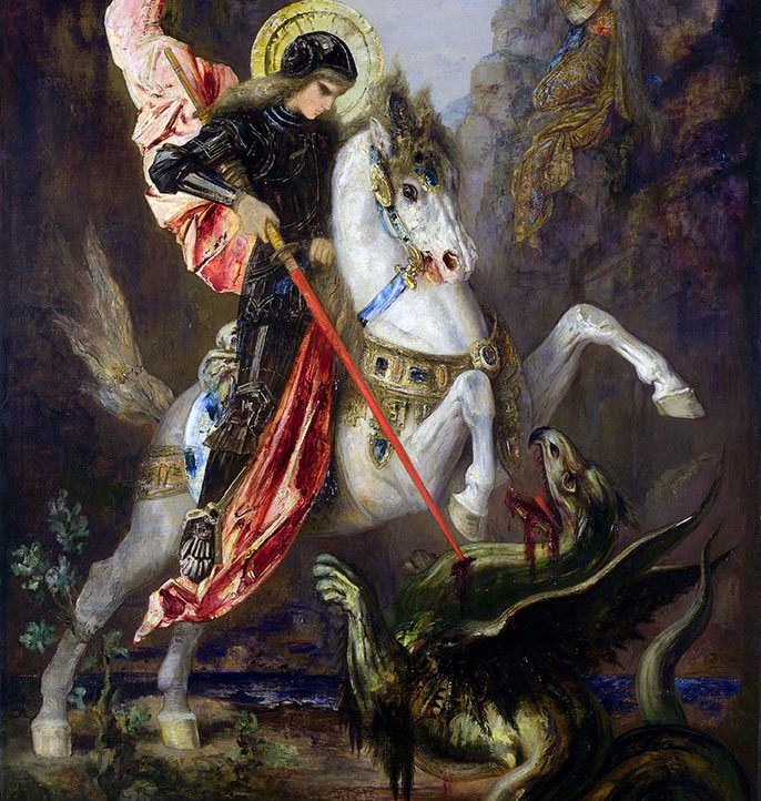Who is Saint George?