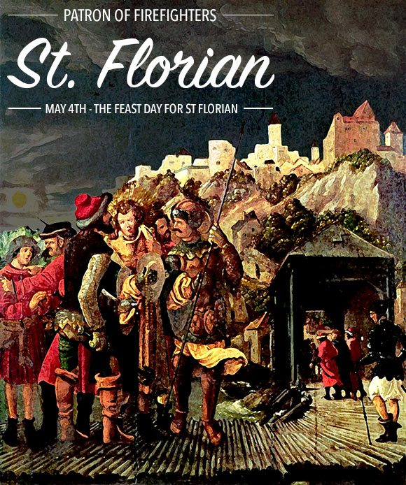 Saint Florian - Patron of Firefirghters