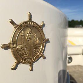 St Brendan Boat Plaque