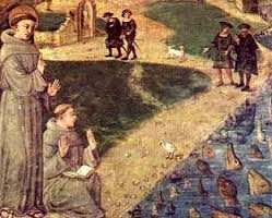 Saint Anthony Preach to the Fishes