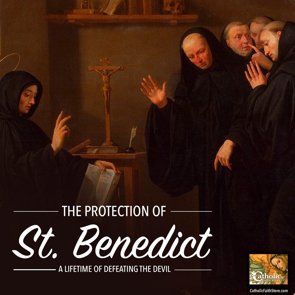 Who is Saint Benedict?