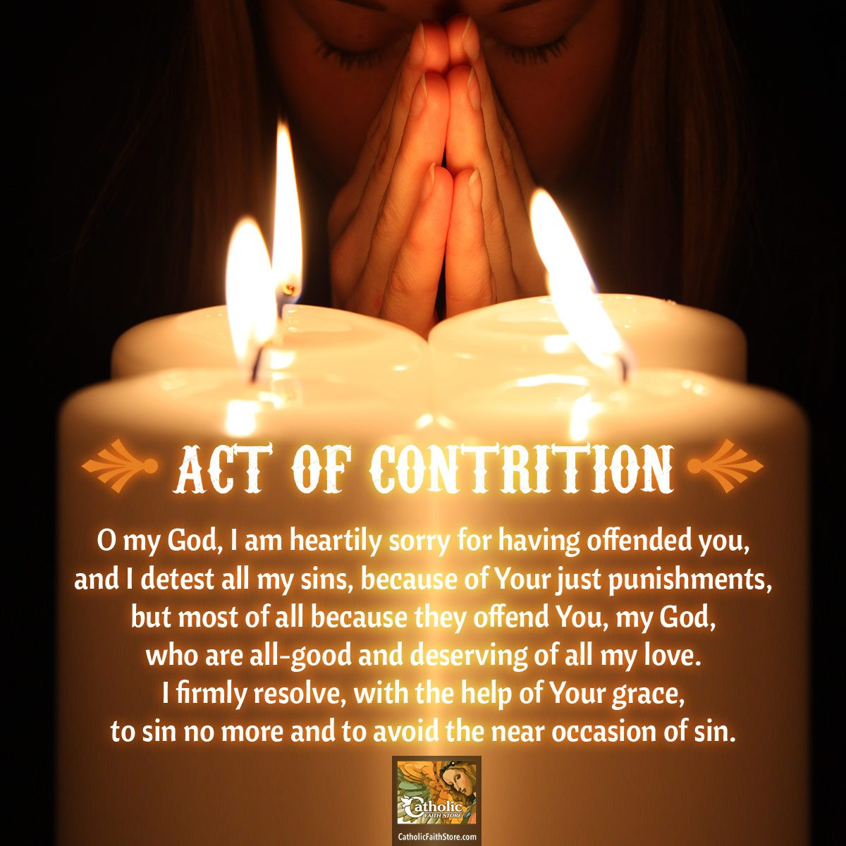 Admitting We Messed Up — The Act of Contrition