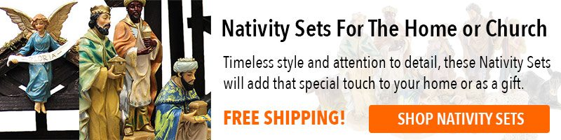 Nativity Sets from the Catholic Faith Store