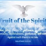 Fruit of the Spirit – Galatians 5:22-23