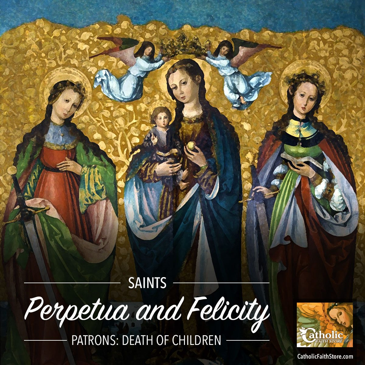 perpetua and felicity Sts perpetua and felicity were christian martyrs who lived during the early persecution of the church in africa by the emperor severus with details concerning the lives of many early martyrs.