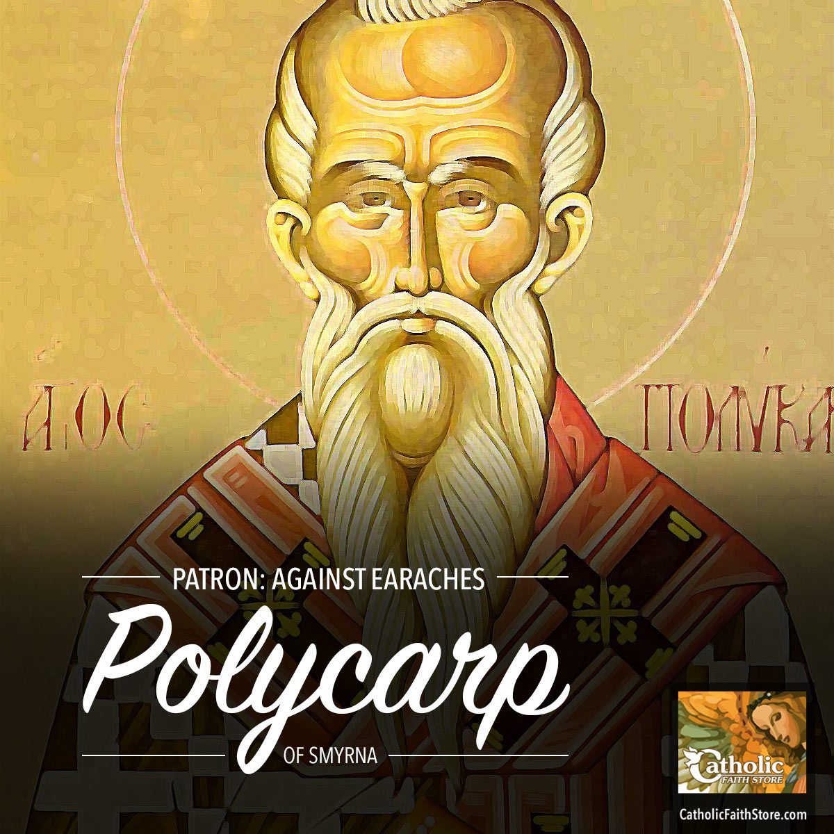 Who is Saint Polycarp of Smyrna