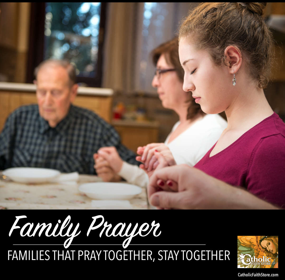 Catholic Family Prayer – Why Bother Praying As A Family?