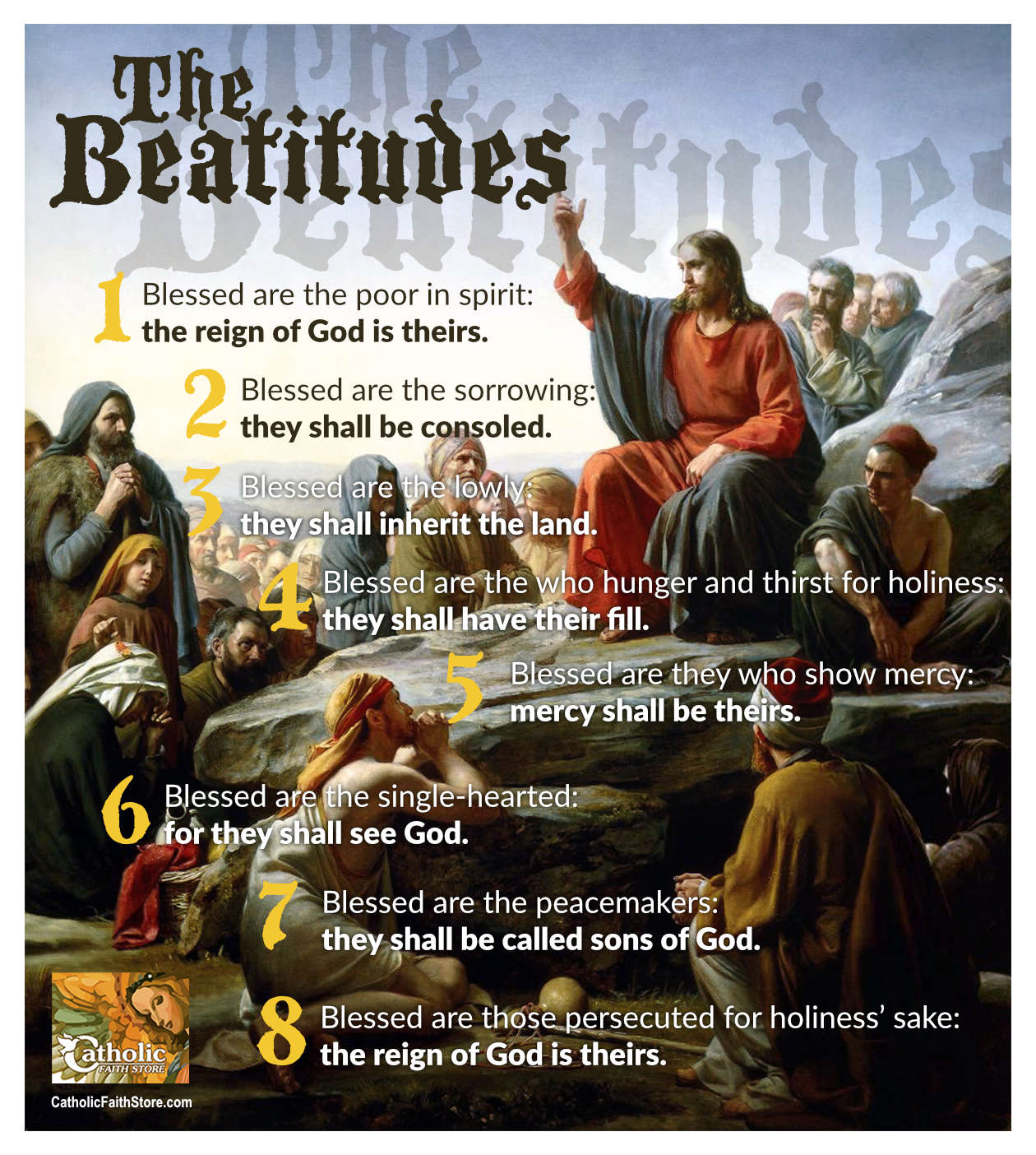 The Meaning of The Beatitudes — The Key to Happiness