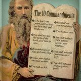 Catholic Ten Commandments in Modern Times