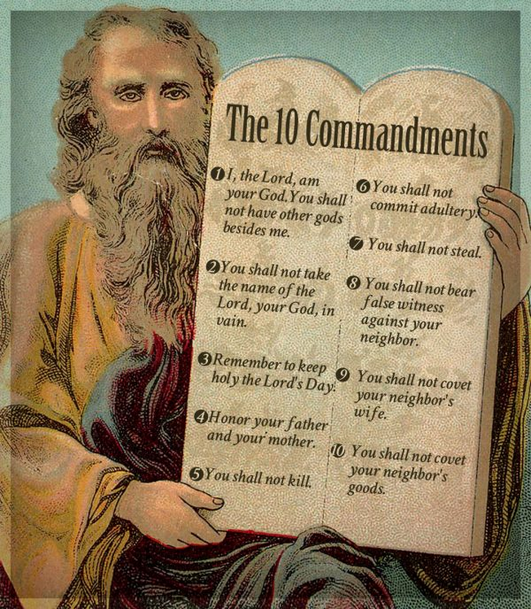 Ten Commandments Catholic