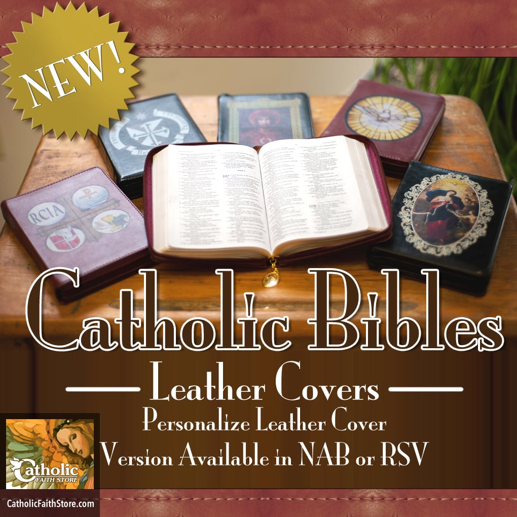 Catholic Bible Leather Cover