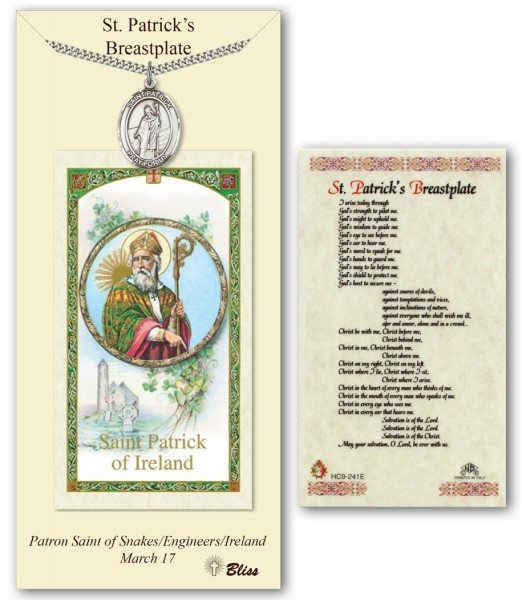 Saint Patrick Prayer Card