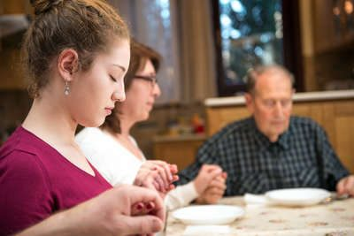 Family Dinner Prayer
