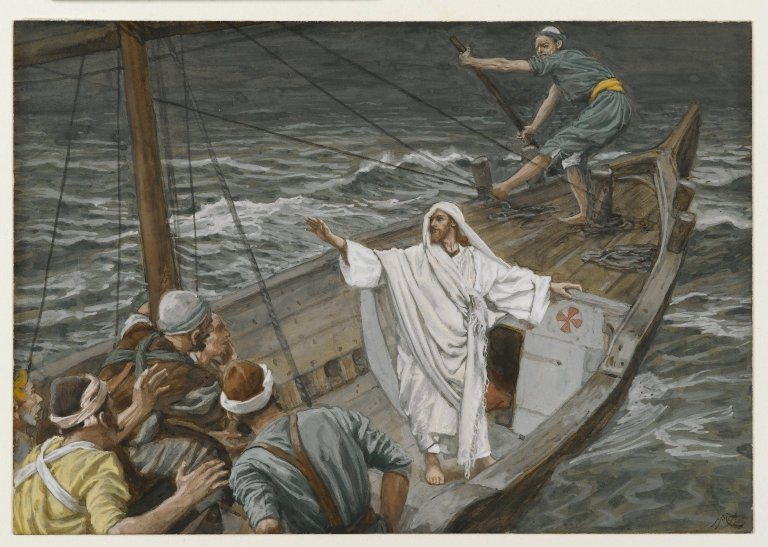 Jesus at Tiberias Sea