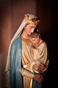 Mother Mary with Christ