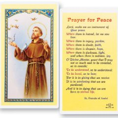Prayers to Saint Francis of Assisi