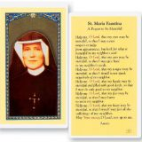 Prayers to Saint Maria Faustina
