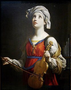 The Story of Saint Cecilia | Catholic Faith Store