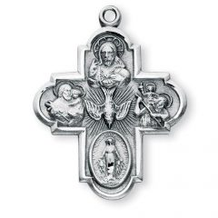 The Meaning of Four and Five Way Medals: Catholic Symbols