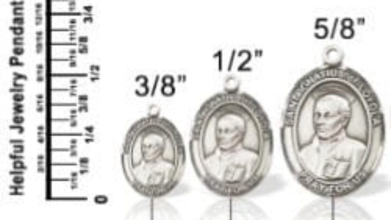 Jewelry Size Guide How To Select The Right Size Pendant