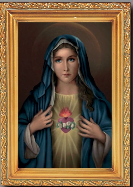 Immaculate Heart Print