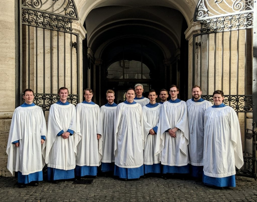 Hereford Cathedral Choir at the Vatican