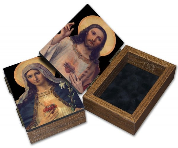 Sacred Hearts Keepsake Box