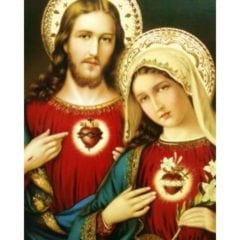 What is the meaning of the Sacred Heart and the Immaculate Heart?
