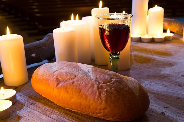 Communion Bread Wine