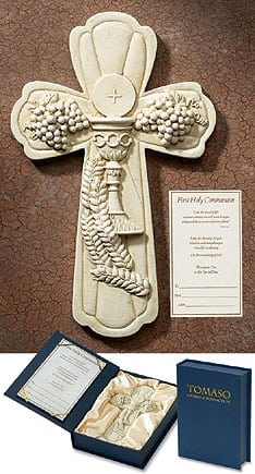 First Communion Tomaso Wall Cross