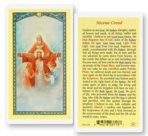 Nicene Creed Prayer Cards