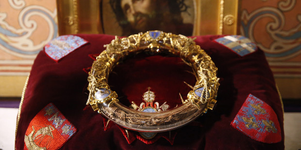 Crown of Thorns at Notre Dame Cathedral