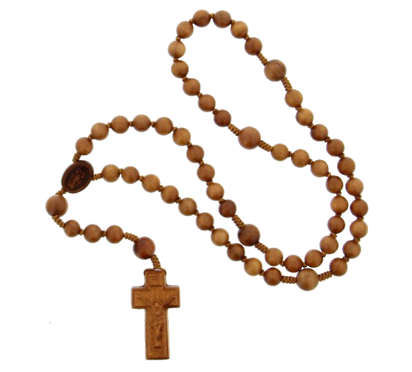 Jujube Wood 5 Decade Rosary